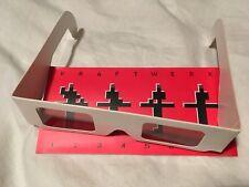 Original Kraftwerk 3D Brille/glasses