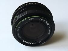 Pentax K Fit - Hanimex 28mm F2.8 Manual Focus Wide Angle Lens