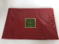Kate Spade All The Trimmings Placemats Set Of 4 Cranberry Red NWT