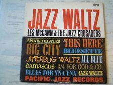 Les McCann & Jazz Crusaders - JAZZ WALTZ (Lp) Press USA 1963