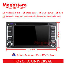 "6.2"" Octa Core Android 8.0 Car DVD GPS Navigation For Toyota Universal 4GB+32GB"