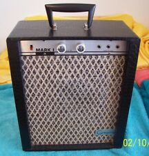 "1962 Gregory Mark 1 Tube amp guitar amplifier 6.5"" speaker  sounds good as is"