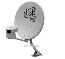 Dish Network Satellite 500 KIT Pro Twin LNB Antenna 110 119 DP LNBF DishPro plus