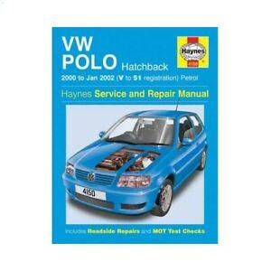 Revue technique Haynes pour Volkswagen Polo 6N2 (2000/2002)