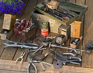 Antique Vintage Automotive Tools Spring Compressors Advertising Chevrolet Chevy