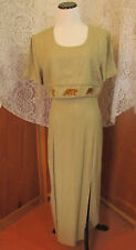 Vtg 70s 80s Miss Scarlett Gypsy Hippie BOHO Gatsby USA Casual/Party Dress N/S
