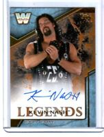 WWE Kevin Nash 2017 Topps Legends Bronze Authentic Autograph Card SN 61 of 99