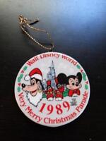 Disney Ornament Walt Disney World A Very Merry Christmas Parade Christmas 1989