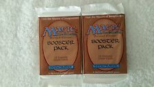 Qty 2 MTG:Revised boosters Magic the Gathering. New, sealed, from sealed box