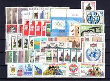 DDR Jahrgang 1985 , postfrisch , Auswahl aus Michel Nr. 2920 - 2992