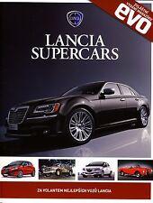 Lancia Supercars 2012 magazine tchéque Czech no catalogue brochure Evo