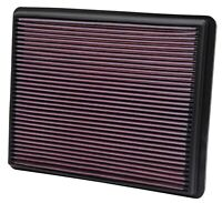 K&N 33-2129 Washable/Reusable Air Filter w/High Air Flow Fits GMC/Chevy