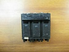 Ge Circuit Breaker 3 Pole, 15 Amp, Cat# Thqb32015 (Chip). Ye-02A