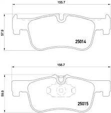 Brake Pad Set, disc brake A.B.S. P06078
