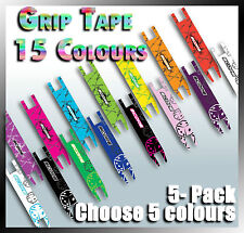 Scooter Deck/Grip Tape**5 PACK**Exciting Colours*Extra Grip*30 Colour Designs**
