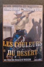 DVD western les couleurs du désert neuf emballé 1931 avec clark gable