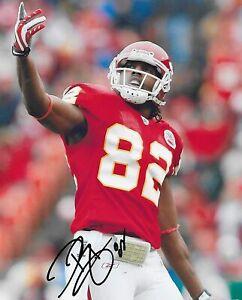 Dwayne Bowe signed autographed Kansas City Chiefs football 8x10 photo COA proof-