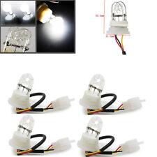 4x Blanc HID Hide-a-Way Flash Strobe Light ampoules de rechange 20 W DC12V-Neuf