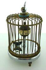 Unique Bird In Cage Alarm Clock Decor Japan