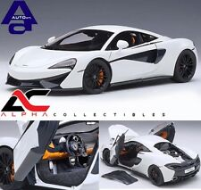 AUTOART 76041 1:18 McLAREN 570S (WHITE WITH BLACK WHEELS) SUPERCAR