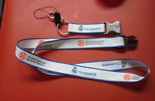 Lanyard Detachable Keychain Euroleague Basketball Realmadrid