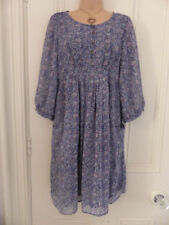 3/4 Sleeve Floral Dresses for Women with Pockets