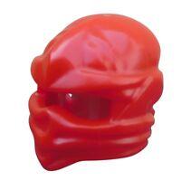 Lego 10 Stück rote Kappe Helm Tuch Ninjago Ninjakappe 98133 für Minifiguren Neu