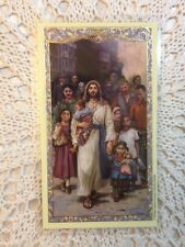 Welcome the Stranger Religious Holy Card 4 Refugees NEW Lot/6  AWESOME LAMINATED