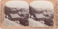 Jungfrau Suisse Switzerland Foto Stereo Vintage Citrato