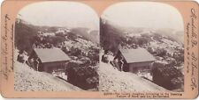 Jungfrau Suisse Switzerland Photo Stereo Vintage Citrate