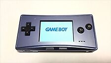 Used Game Boy Micro Blue Maker End of production Free Shipping from JAPAN