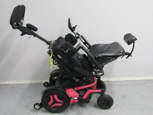 PERMOBIL F3 WHEELCHAIR,POWER TILT,RECLINE AND LEGS. 31 MIL ONLY. NEW BATTERRIES.