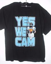 CAM NEWTON  T Shirt CAROLINA PANTHERS  YES WE CAN  JERSEY XXL