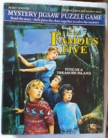 Enid Blyton The Famous Five Mystery Jigsaw Puzzle Game Five on a Treasure Island