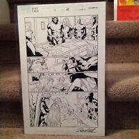 Leonard Kirk Dark X-Men #1 Page #10 Original Art Page
