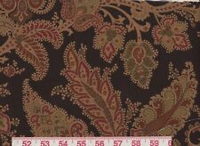 Brown Ralph Lauren Cotton Upholstery Fabric R$284y Northcliffe Paisley Cl Peat