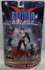 Batman Beyond Deluxe Strike Cycle Terry McGinnis With Street Armor & Batcycle C8