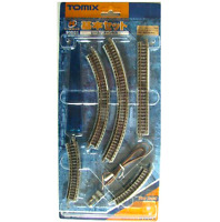 Tomix 91081 Mini Rail Set Basic Set (Track Layout MA) - N