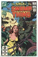 DC Comics 1982 The Saga Of The Swamp Thing No.8 Tom Yeates
