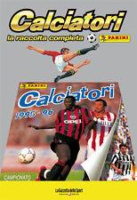 ALBUM PANINI CALCIATORI LA RACCOLTA COMPLETA 1995-96 1996 GAZZETTA DELLO SPORT