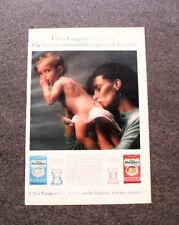 I328-Advertising Pubblicità- 1987 - ULTRA PAMPERS BOY E GIRL