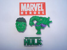 Set of 3 Hulk Shoe Lace Charms by Marvel Boys Kids (not Crocs) The Avengers