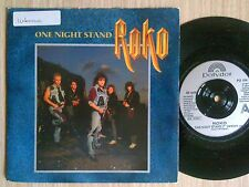 "ROKO - ONE NIGHT STAND - 45 GIRI 7"" GERMANY"