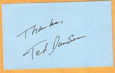 Ted Danson-signed letter-33