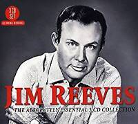 Jim Reeves Absolutely Essential REMASTERED 3 CD DIGIPAK NEW