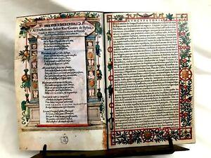 """""""De Materia Medica"""" By Dioscorides 1555 / Facsimile"""