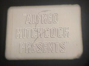 """16MM TV SHOW """"ALFRED HITCHCOCK PRESENTS"""", NETWORK PRINT, ORIGINAL COMMERCIALS"""