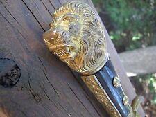 RARE MOHR & SPEYER ,BERLIN GOLD WASHED ,LION HEAD, HUNTING HIRSCHFANGER, HUGH 26