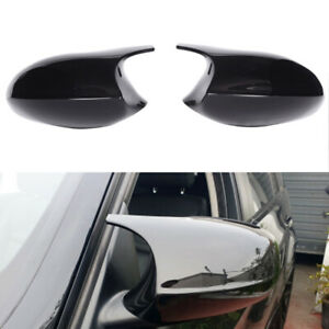 Pair Door Side Wing Mirror Cover Cap fit for BMW E92 E93 LCI 2010 to 2013
