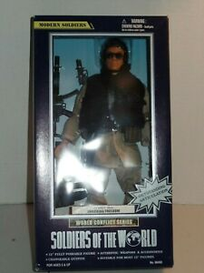 NIB Soldiers of the World Conflict Solider Action Figure  US NAVY SEAL Freedom